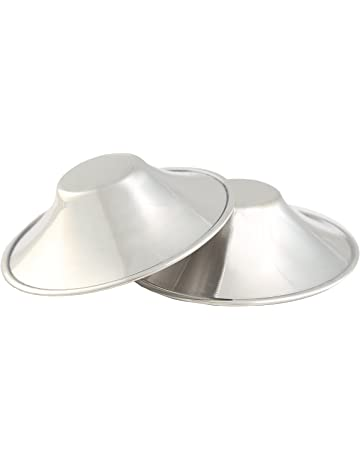 Copas de lactancia-conchas de lactancia SILVER SHELL-alivio para los pechos doloridos o