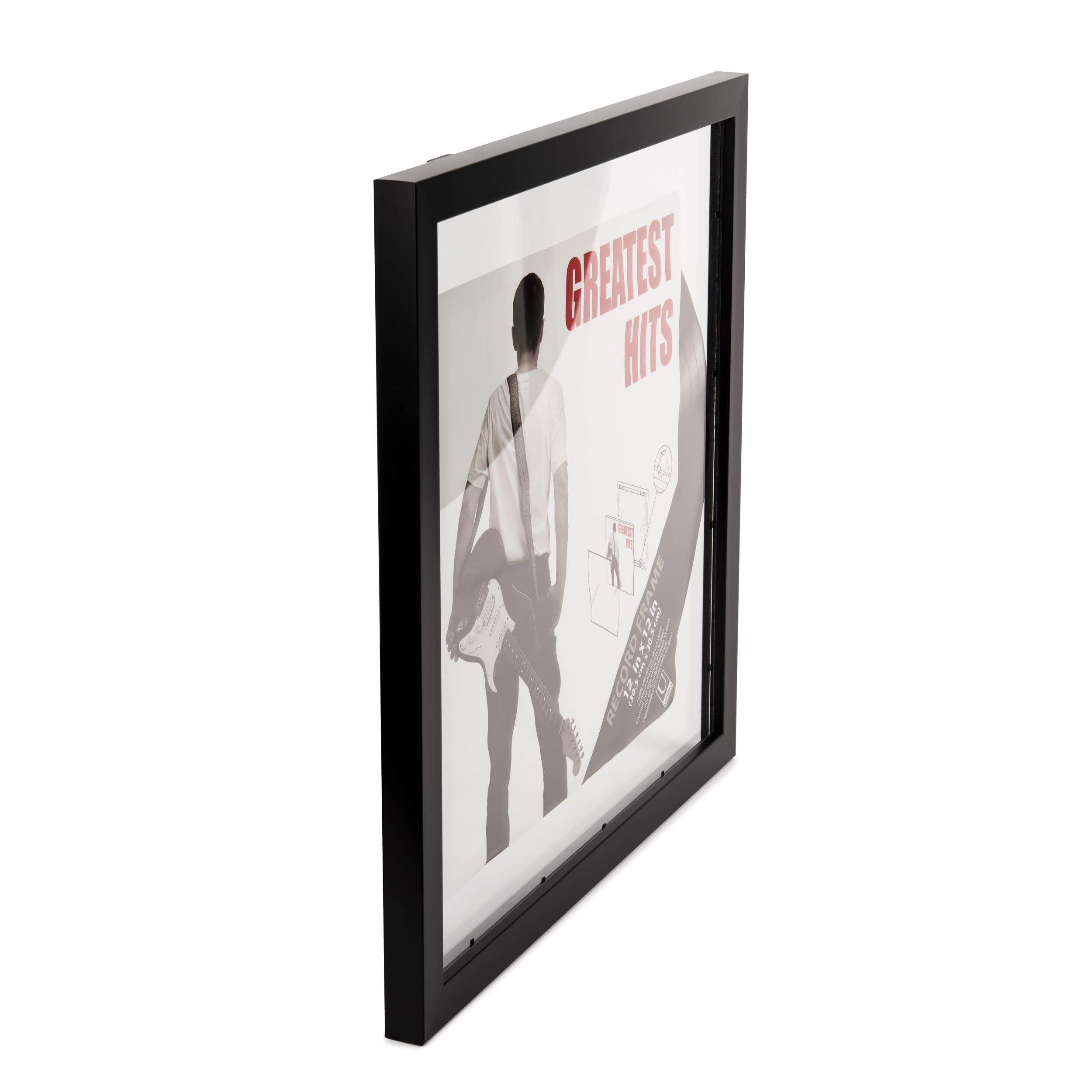 Umbra Record Album Frame 14-1/2x14-1/2-Inch, Modern Picture Frame Designed to Display a Floating 12-Inch by 12-Inch Album Cover by Umbra (Image #7)