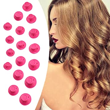 Amazon Vakabva 20 Pcs Hair Care Curlers Rollers Silicone Hair
