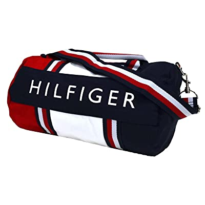 Tommy Hilfiger Mini Duffle Bag In Red White Navy