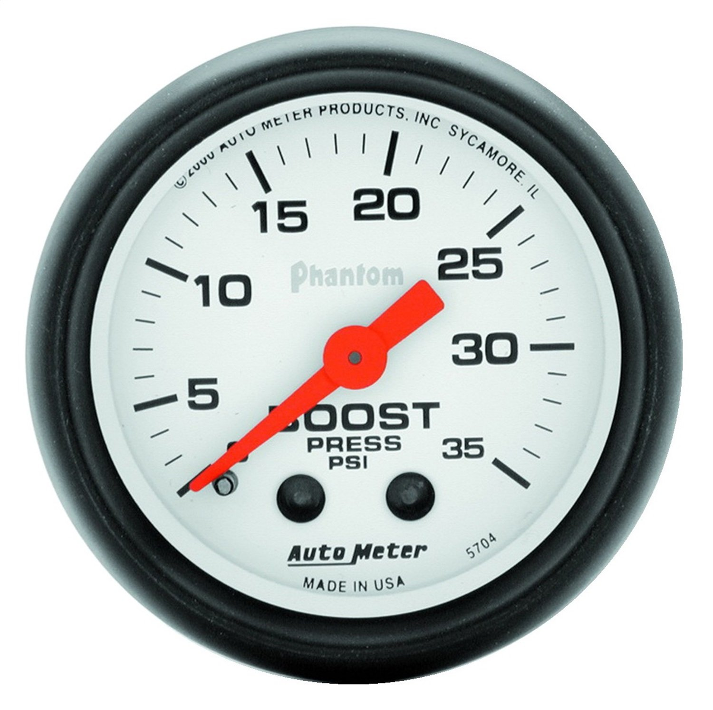 Auto Meter 5704 Phantom Mechanical Boost Gauge
