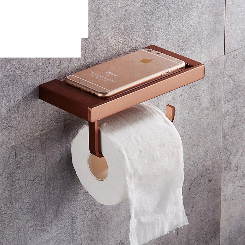 space aluminum towel rack toilet paper shelf toilet paper holder