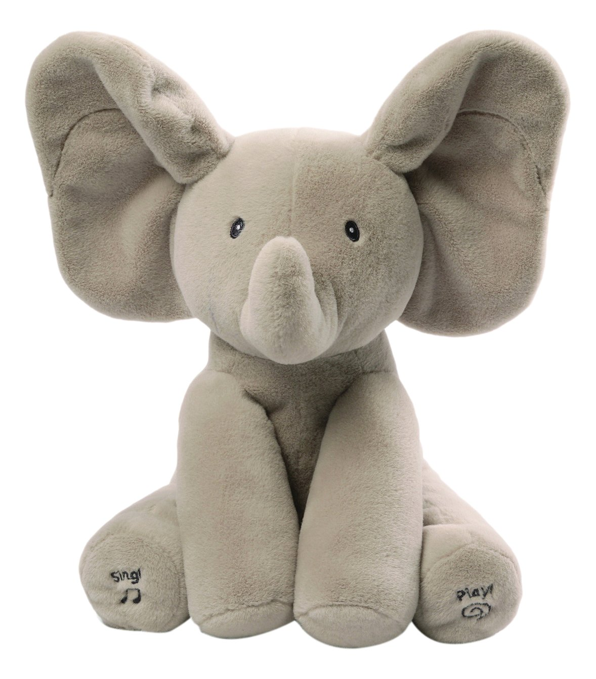 flappy the elephant peek a boo animated talking singing plush kids comfort new. Black Bedroom Furniture Sets. Home Design Ideas