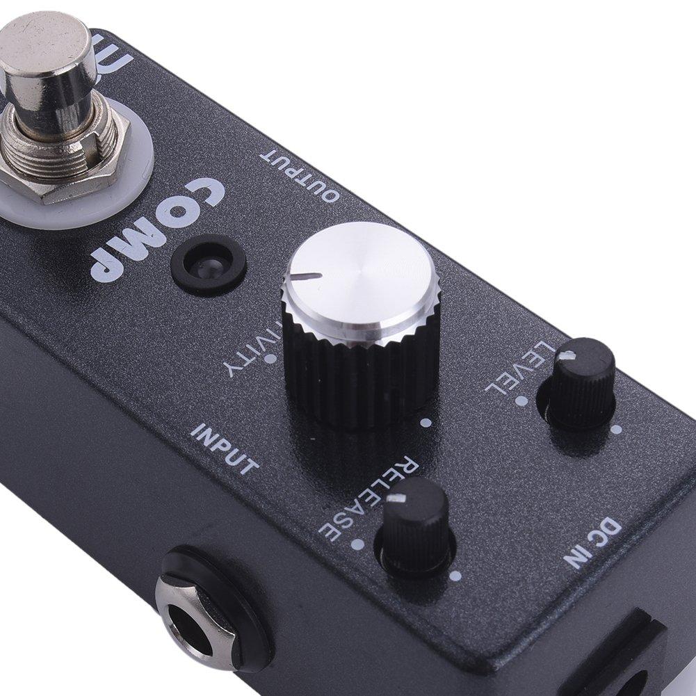 Pedal de Efectos para Guitarra Eléctrica EX – Pedal de efecto 18 efectos para elegir, Compresseurs: Amazon.es: Instrumentos musicales