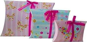 Caja de regalo para regalo (juego de 3, grande, mediano y pequeño ...
