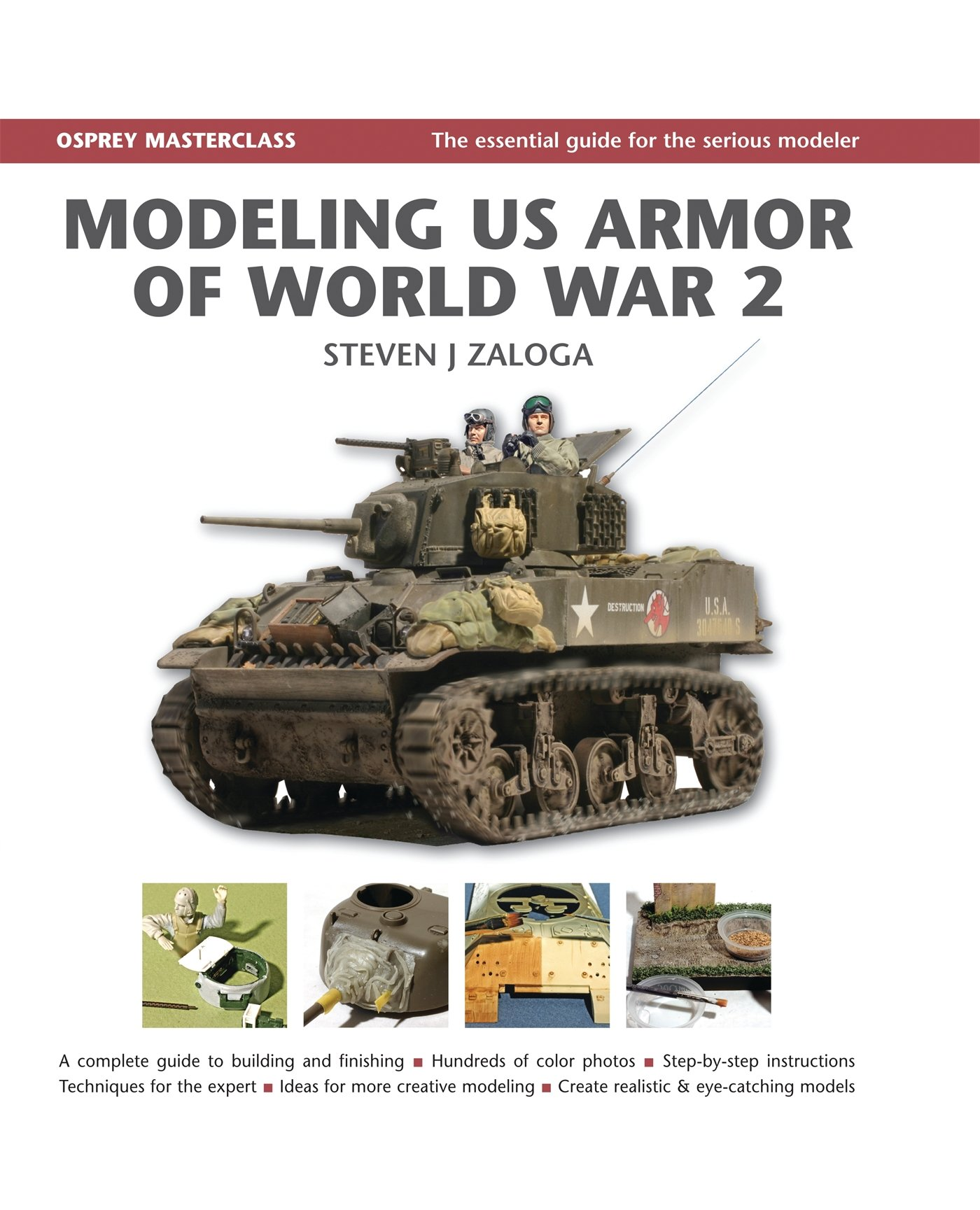 Modeling US Armor of World War 2 Modelling Masterclass ...