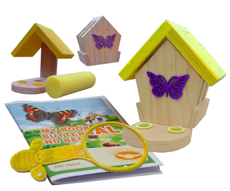 Wildlife World Comedero y habitáculo para mariposas y polillas MBFE