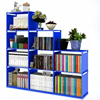 ilios innova Librero Organizador Estante Armado Facil, Resistente Diferentes Colores