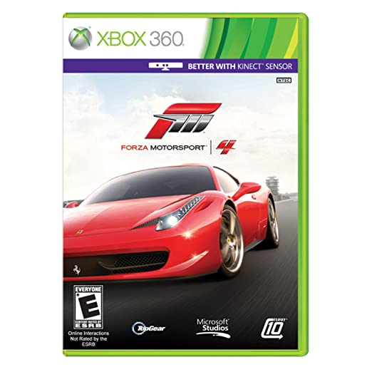 Forza Motorsport 4 IV Kinect Compatible (Xbox 360) Xbox 360 Games at amazon