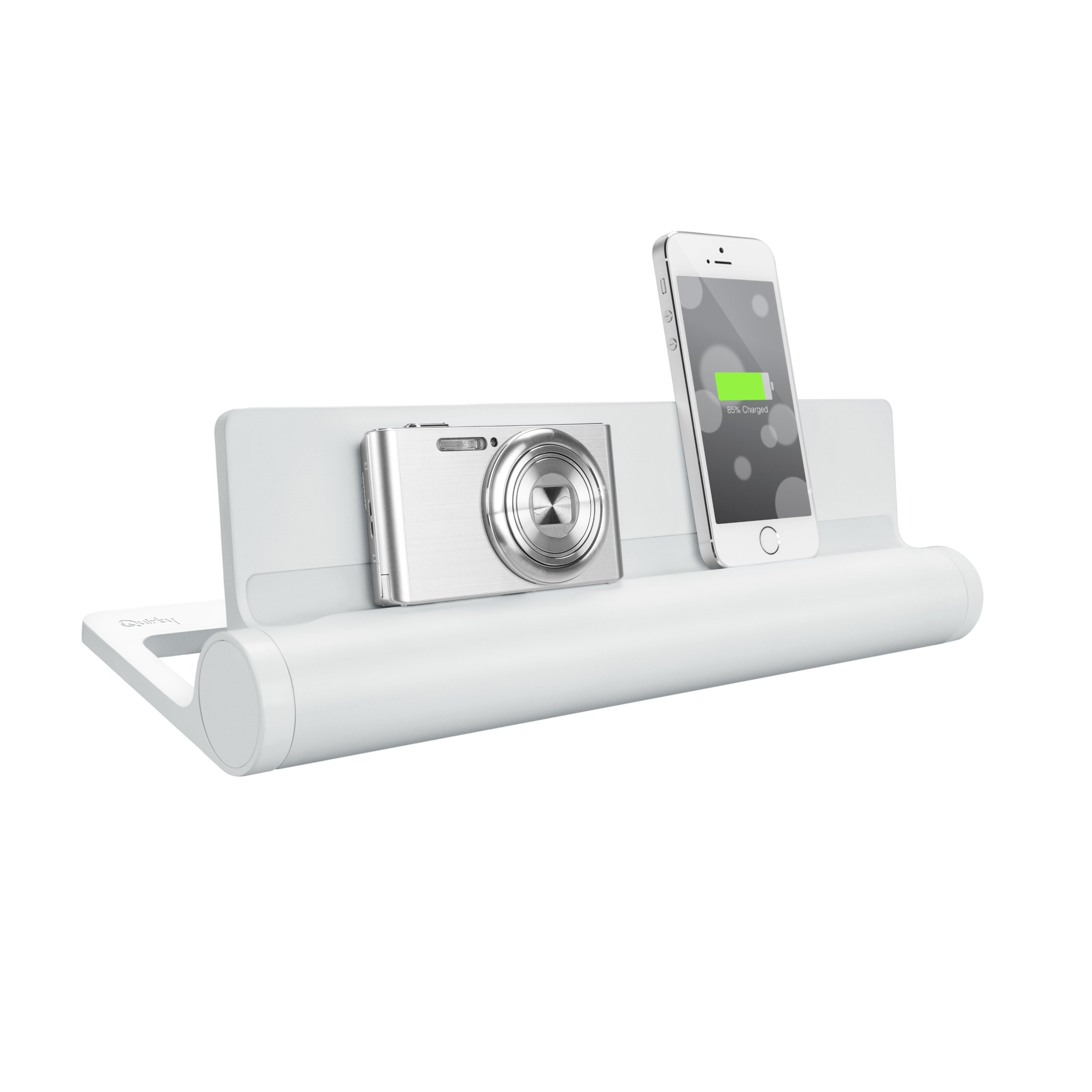 Quirky PCVG3-WH01 Converge Universal USB Docking Station, White by Quirky