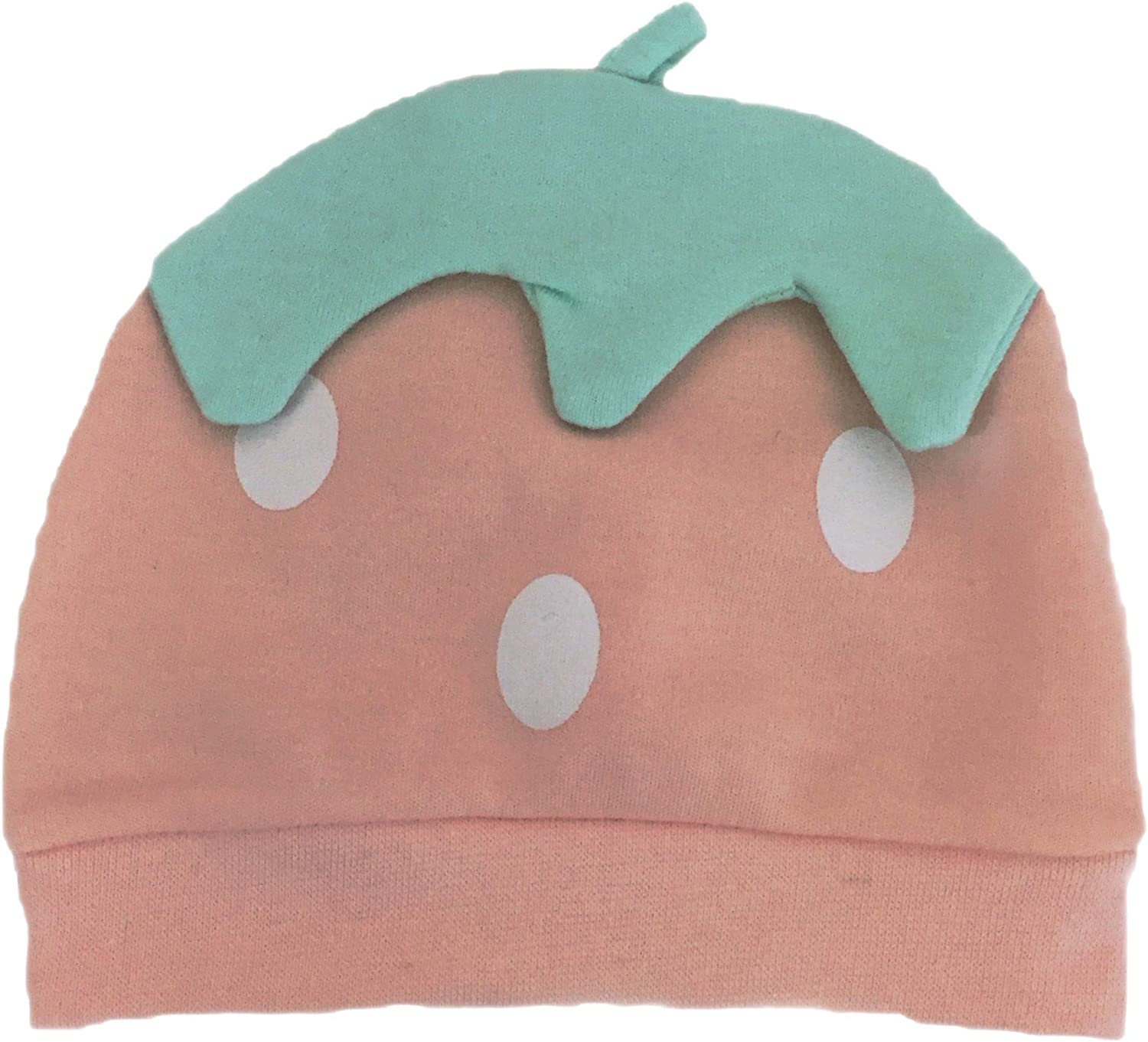 Baby Strawberry Hat 0-3M