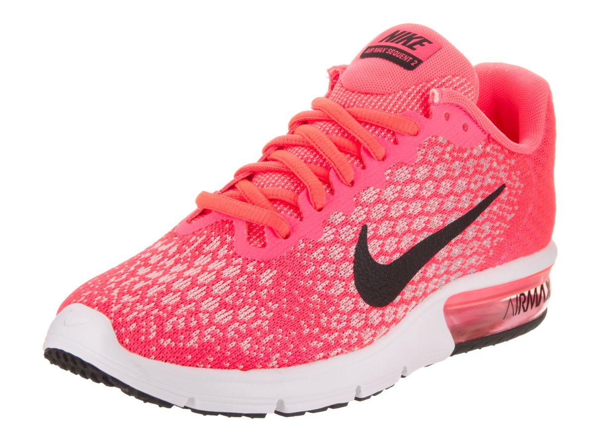 a basso costo Nike Donne Air Max Sequent 2 Scarpe da corsa Hot Punch/Nerowolf Grigiowhit