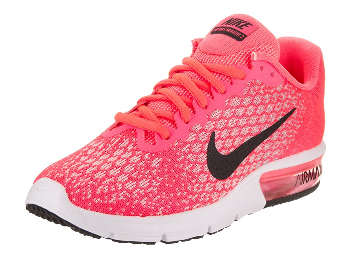 047014f89c Top1: NIKE AIR Max Sequent 2 Womens Running Shoes HOT Punch/Black/Wolf Grey/ White 6.5