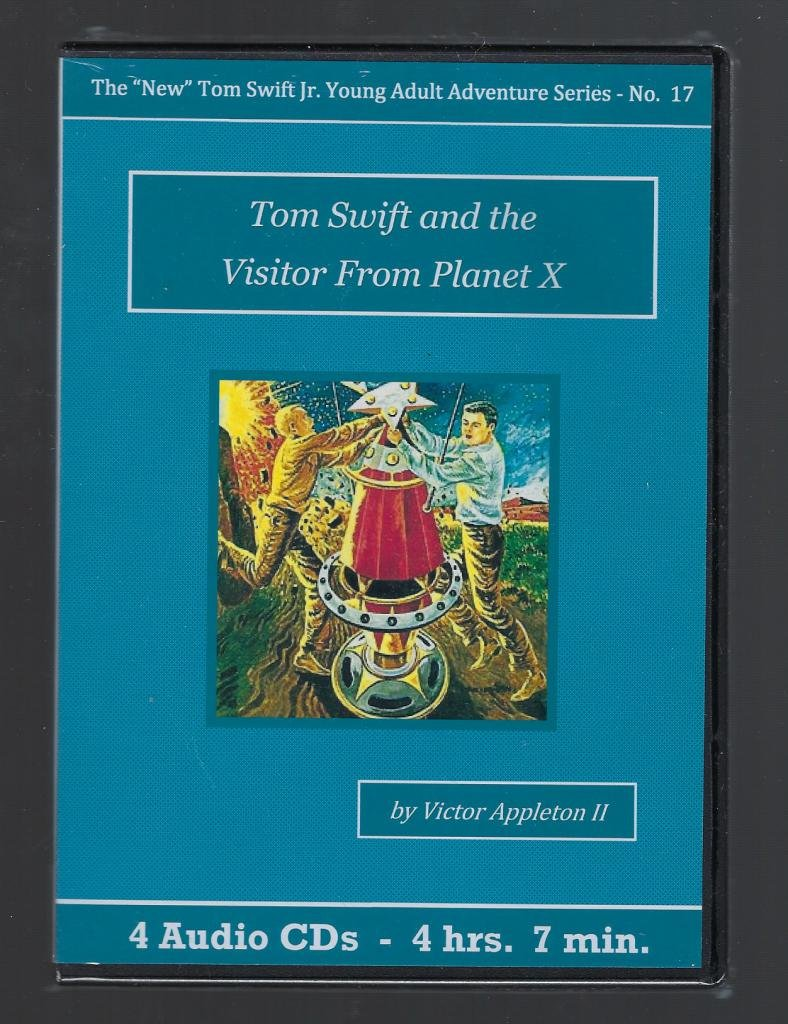 Download Tom Swift and the Visitor From Planet X Audiobook CD Set pdf epub