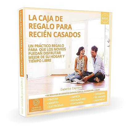 Expertos Express Caja Regalo - La Caja de Regalo para RECIÉN Casados - Box Cofre Regalo