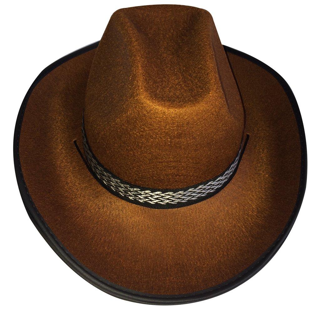 Dress Up America Cappello da muccaragazzo adulto marrone  Amazon.it  Giochi  e giocattoli e50479698aba