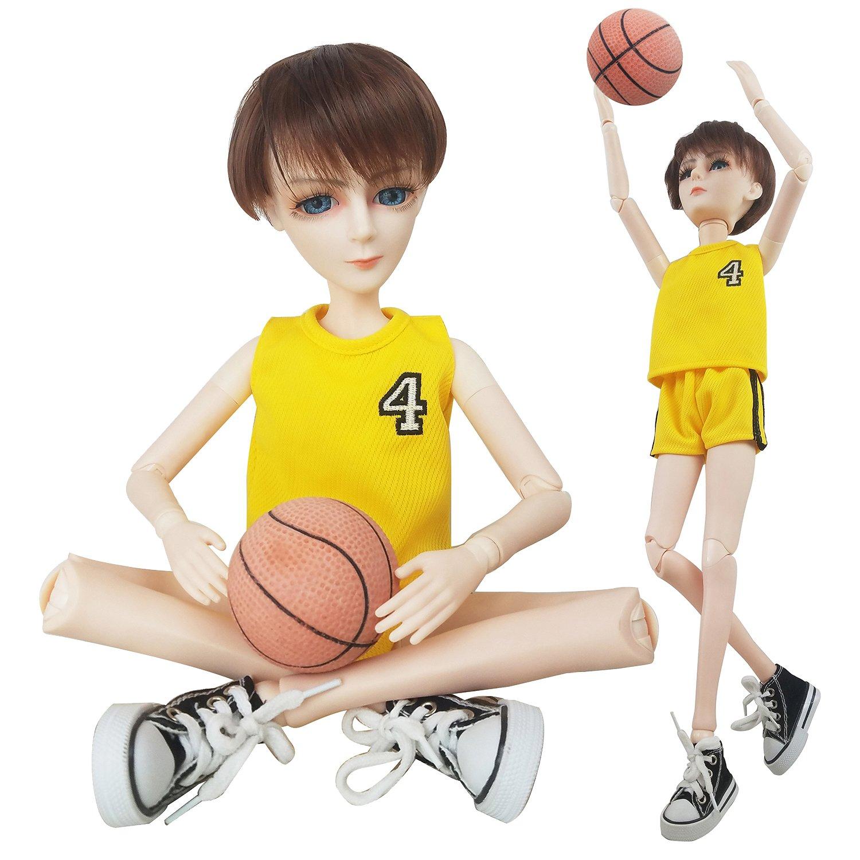 EVA BJD Basketball Player Boy Doll 1/3 BJD Doll Sport Style 56cm 22inch jointed doll BJD full set + Makeup + Accessories