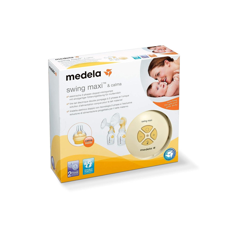Medela Swing Maxi - Extractor de leche eléctrico con tecnología de ...