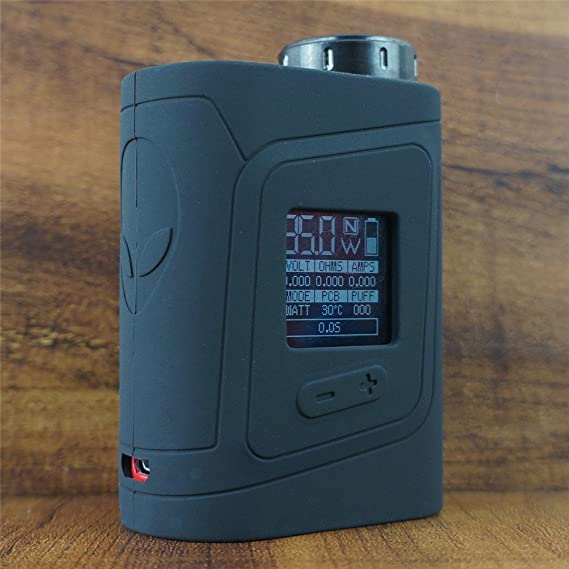 ModShield for SMOK AL85 Baby Alien 85W TC Silicone Case ByJojo Cover Sleeve  Skin Wrap Case (Black)
