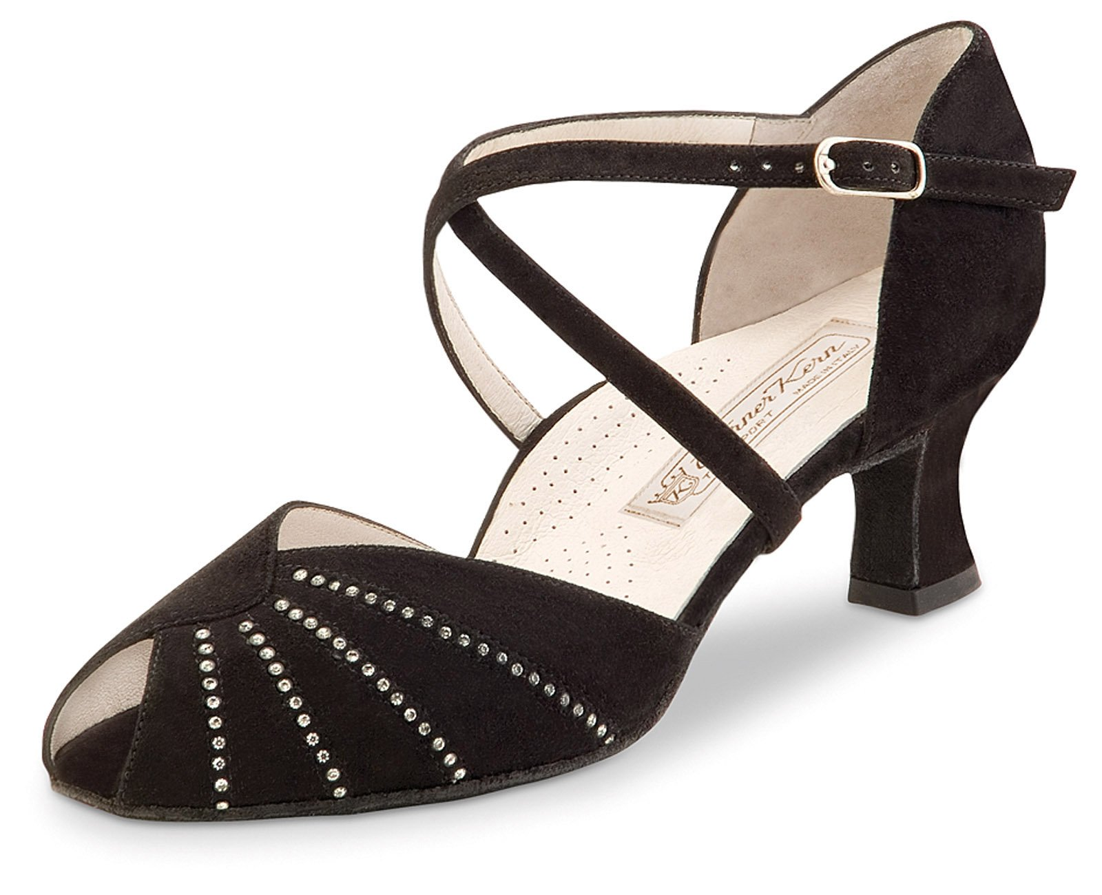 Werner Kern Women's Sonia - 2'' (5.0 cm) Latin Heel, Comfort Line, 8 M US (5 UK)