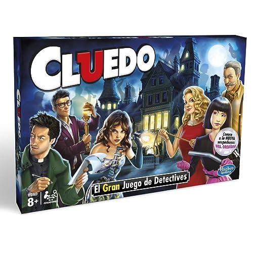 Hasbro Gaming Gaming clasico Cluedo Versión Española Miscelanea 38712546