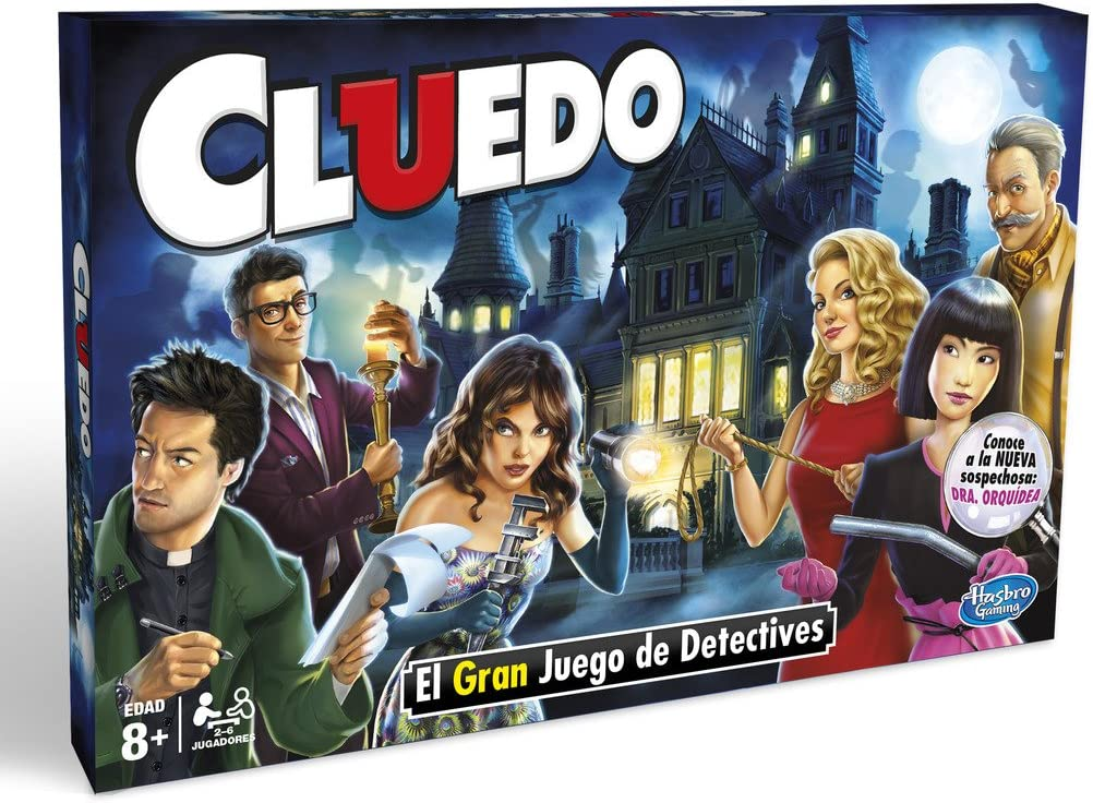 Hasbro Gaming Clasico Cluedo (Versión Española) (38712546): Amazon.es: Juguetes y juegos
