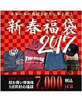≪豪華5点入り/数量限定≫ オリジナル 5点セット 福袋 2017 third031 b系 ストリート系 ファッション 大きいサイズ