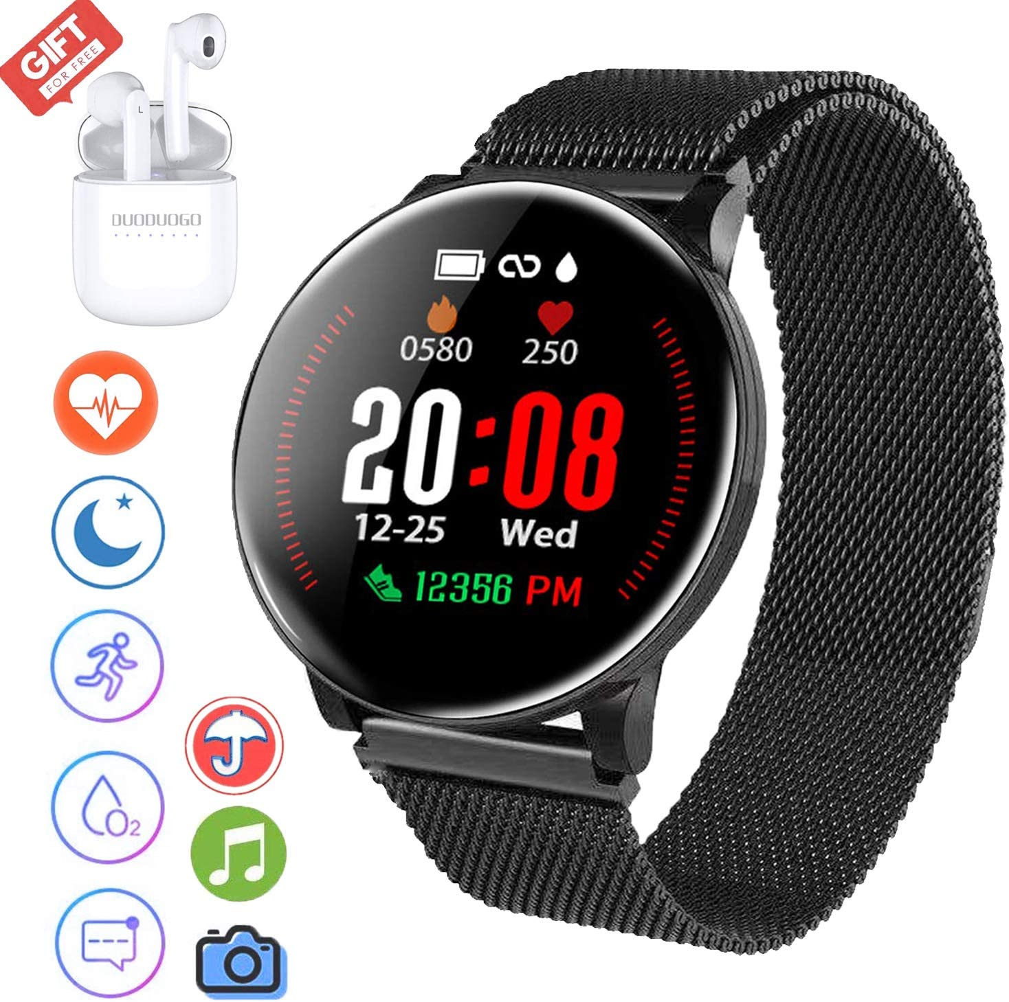 Smartwatch Reloj Resistente, Smartwatch Reloj Resistente Hombre ...