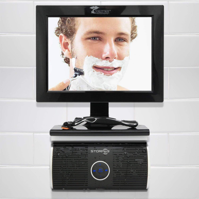 2 GB Storage Portable Internal Memory Brilliant Sound STORMp3 Water Resistant Mp3 Speaker White or Black