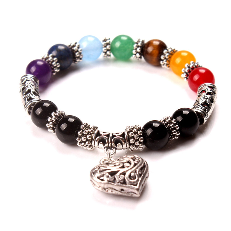 725c1304499a COOCOL - Pulsera de Piedras de Cristal curativo Mixto, diseño de ...