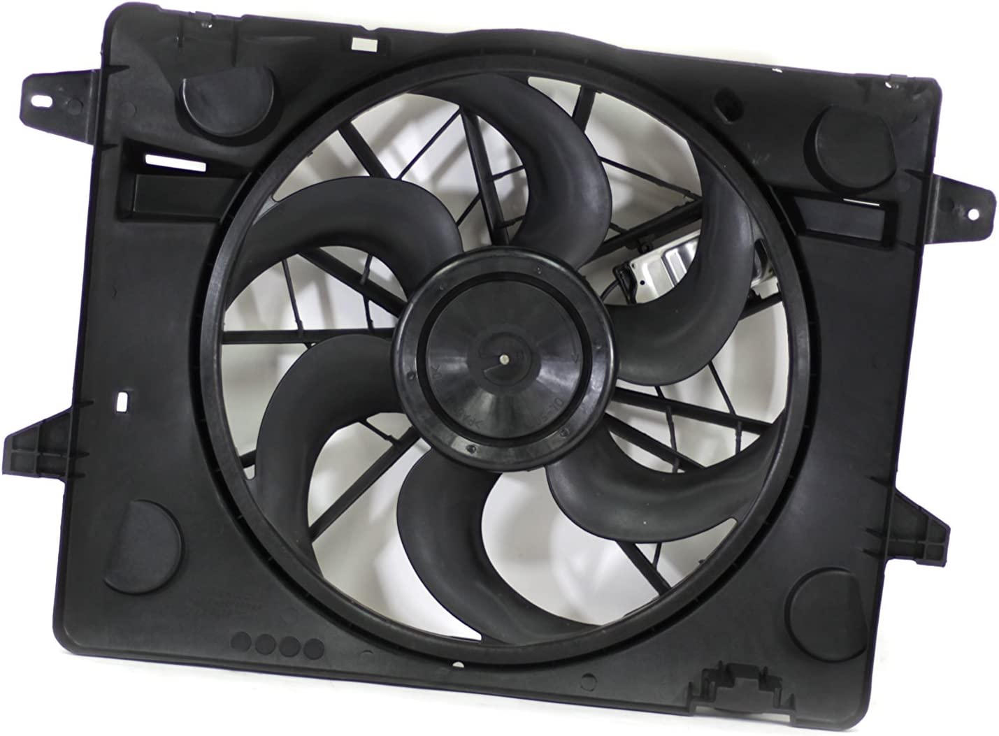 Dual Radiator and Condenser Fan Assembly Cooling Direct For//Fit FO3115149 03-05 Ford Crown Victoria Grand Marquis Marauder Town Car