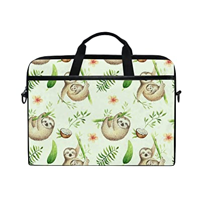 8a0c9f12d1aa AHOMY Cartoon Baby Sloth Tree 15 Inch Laptop Shoulder Sleeve ...