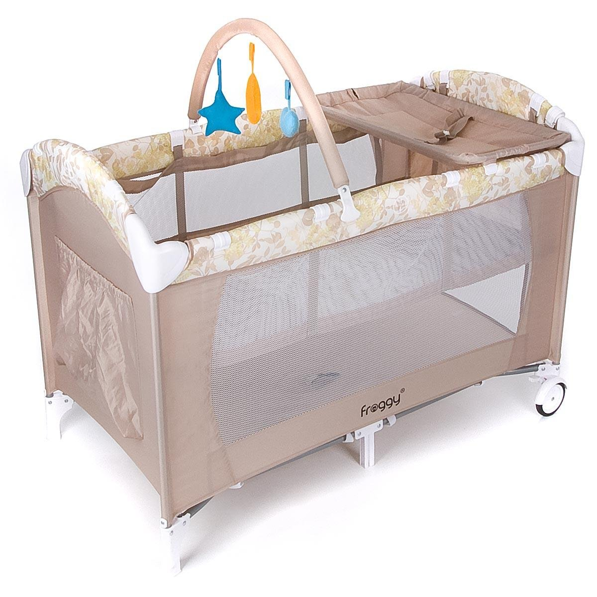 Froggy Baby Bed Travel Cot