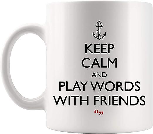 com play words friends game friendship coffee mug