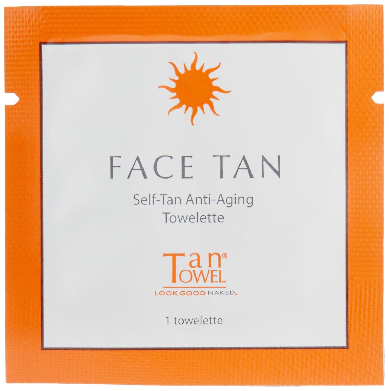 Tan Towel Face Tan Tanning Wipes