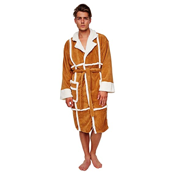 Only Fools and Horses Del Boy Dressing Gown: Amazon.co.uk: Clothing