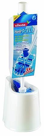 Vileda PowerBrush WC-Bürsten Set für perfekte Reinigung bis unter den Rand