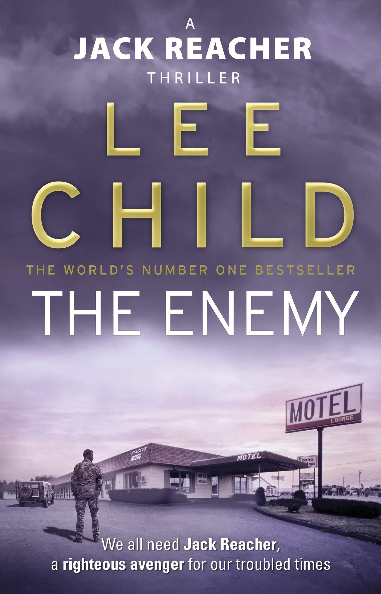 lee child jack reacher books amazon
