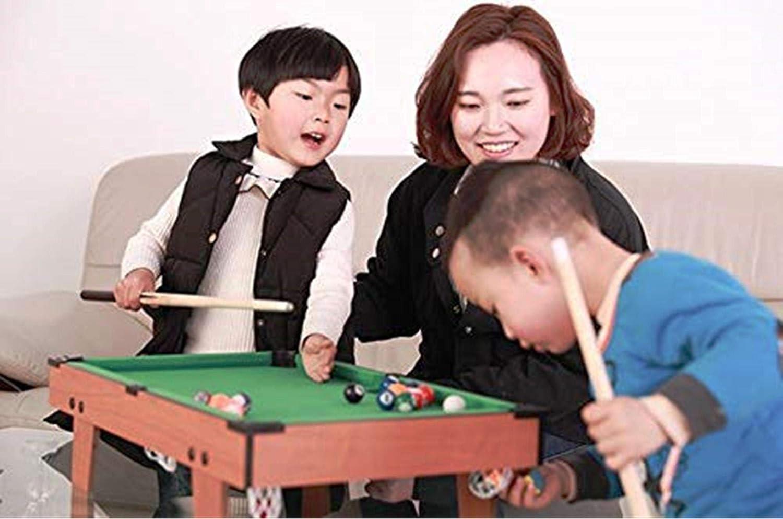 Mesa de Billar - Juego de Mesa de Billar Familiar para niños, niñas Mesa de Billar: Amazon.es: Juguetes y juegos