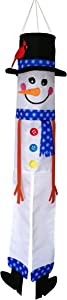 "In the Breeze 5028 Buddy Windsock-Hanging Holiday Decoration, 40 Inches, 40"" Lil' Snowman"