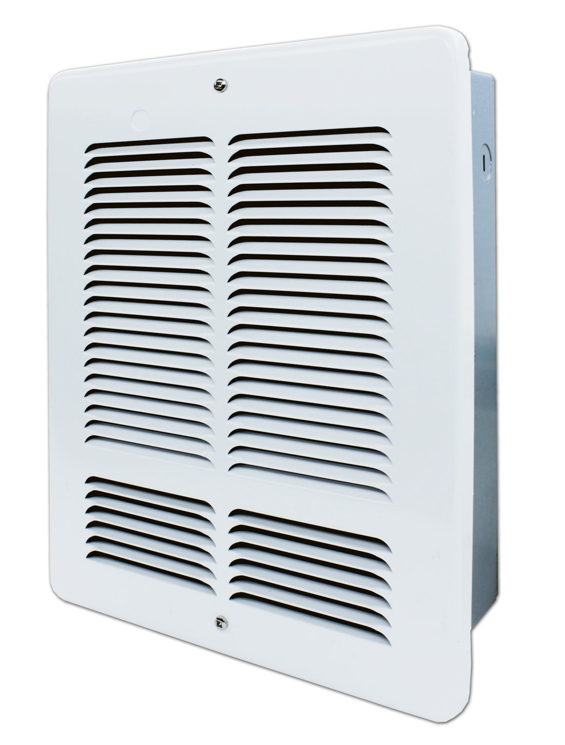 King Electric W2420 W Wall Heater 240 Volt White Floor Heating Wiring Baseboard Registers