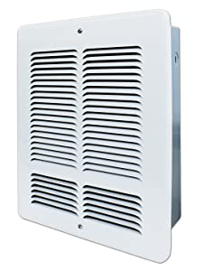 King Electric W2420-W W Series Wall Heater 2000-Watt / 240-Volt White