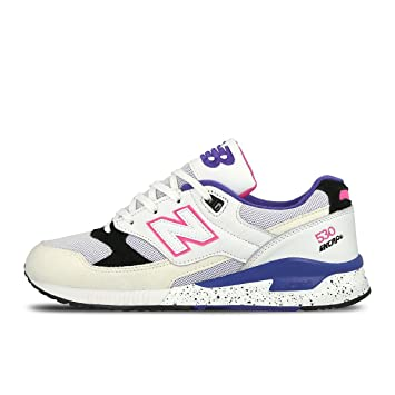 finest selection ca8e4 492a3 New Balance 530 Encap Trainers in White Blue & Pink M530 KIE ...