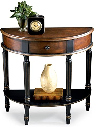 WOYBR DEMILUNE CONSOLE TABLE