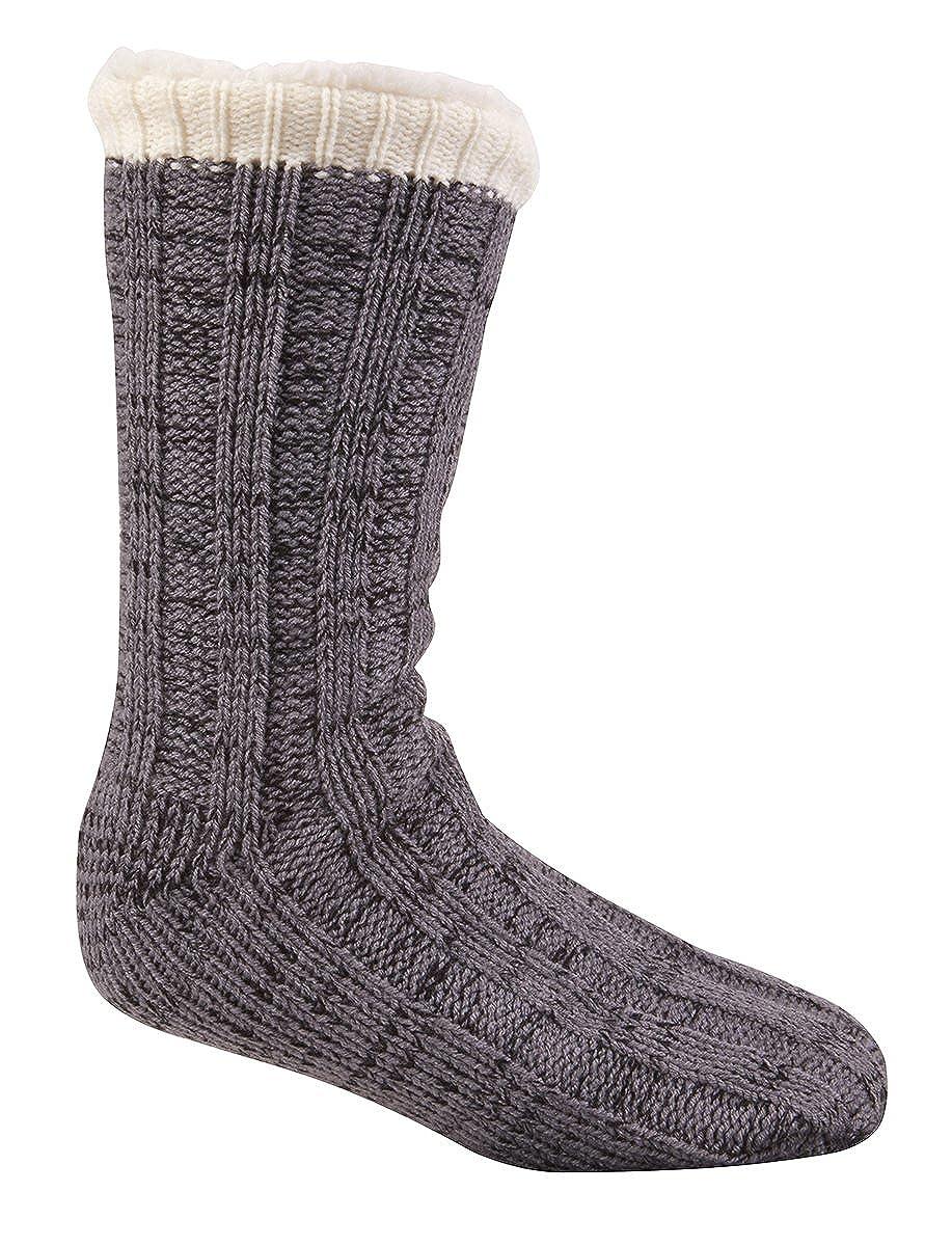 de la marca Pierre Roche Calcetines estilo zapatilla De Punto Con Forro Polar Para Hombre