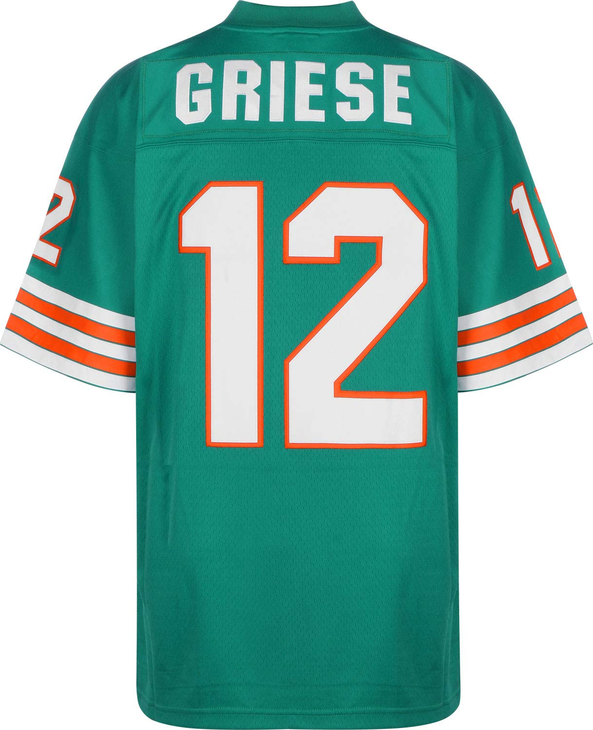 Mitchell   Ness Bob Griese Miami Dolphins Jersey Green  Amazon.co.uk   Sports   Outdoors 9437993588f