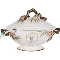 Fitz and Floyd 5245207 Forest Frost Soup Tureen, Standard
