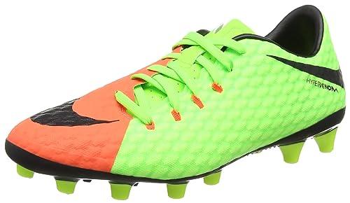 new product a4e77 bebe0 Nike Hypervenom Phelon III AG-Pro, Botas de fútbol para Hombre  Amazon.es   Zapatos y complementos