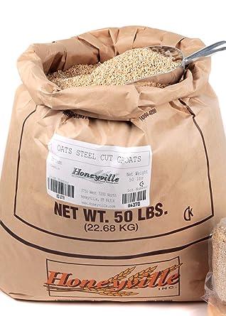 Oats de acero – bolsa de 50 libras: Amazon.com: Grocery ...