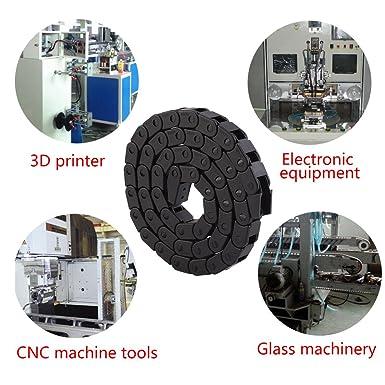 1000 mm Cadena De Arrastre, Cable de Nylon Negro para la Impresora ...
